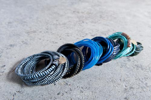 Fair trade sieraden gemaakt van gerecycled plastic